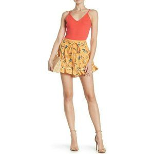 The Fifth Label Floral High Rise Skyward Shorts